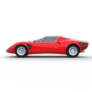 Alfa Romeo Stradale rendercar