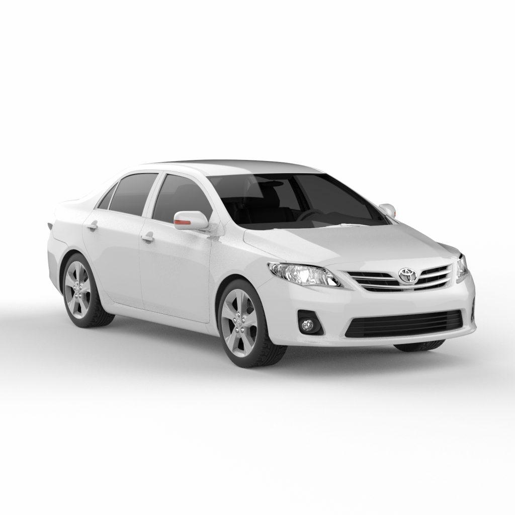 Toyota Corolla 3d скачать