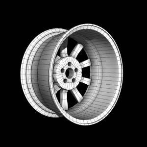 Диск автомобильный 3d rendercar