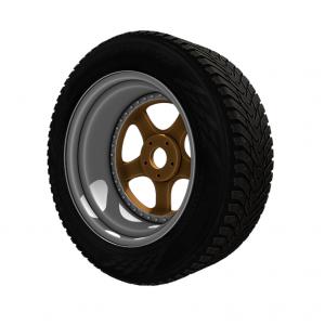 Work wheels 3d rendercar