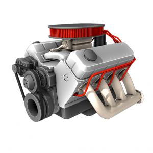 Engine V8 3D